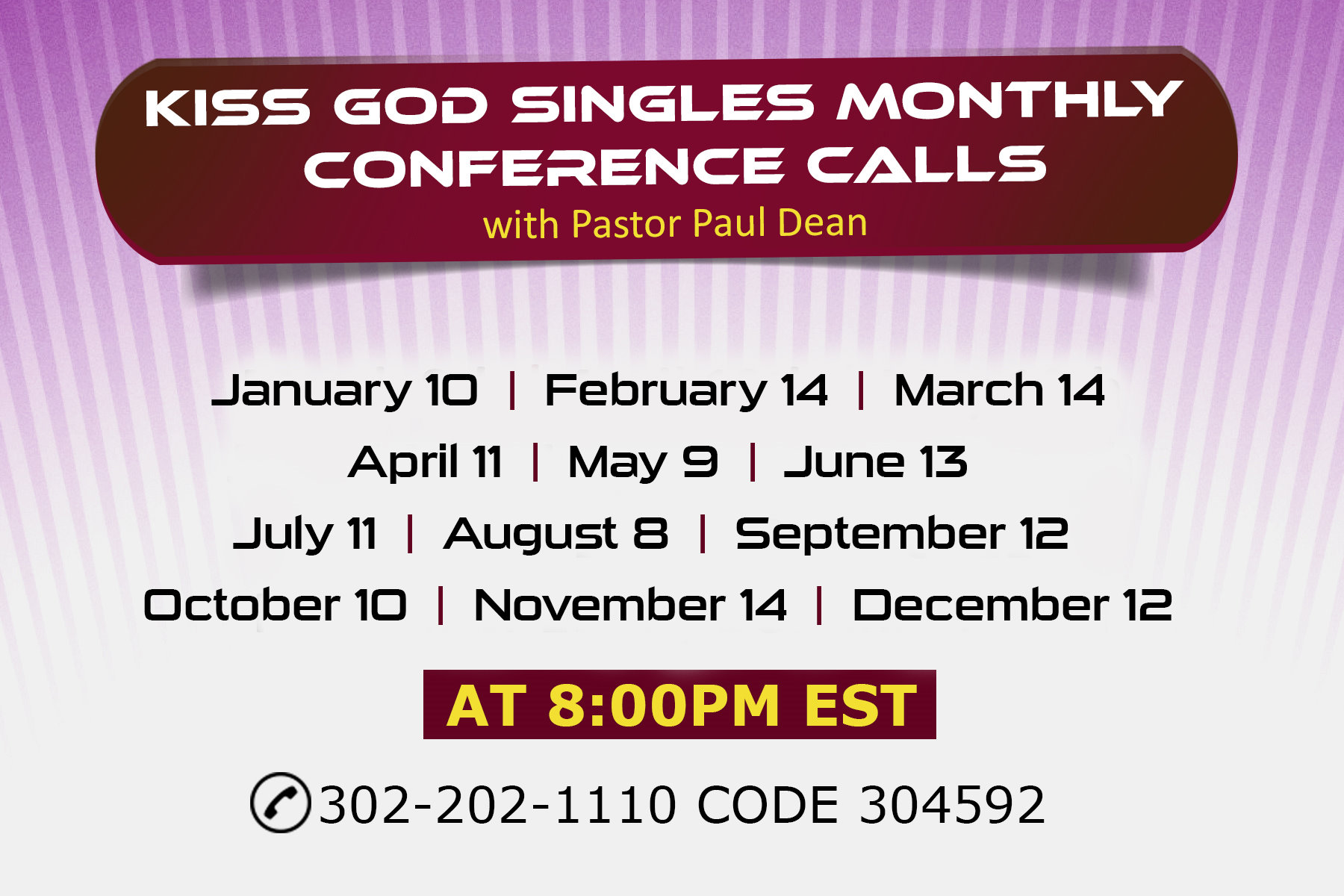 Kiss_God_Singles_monthly_conference_calls